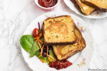 Savory French Toast recipe