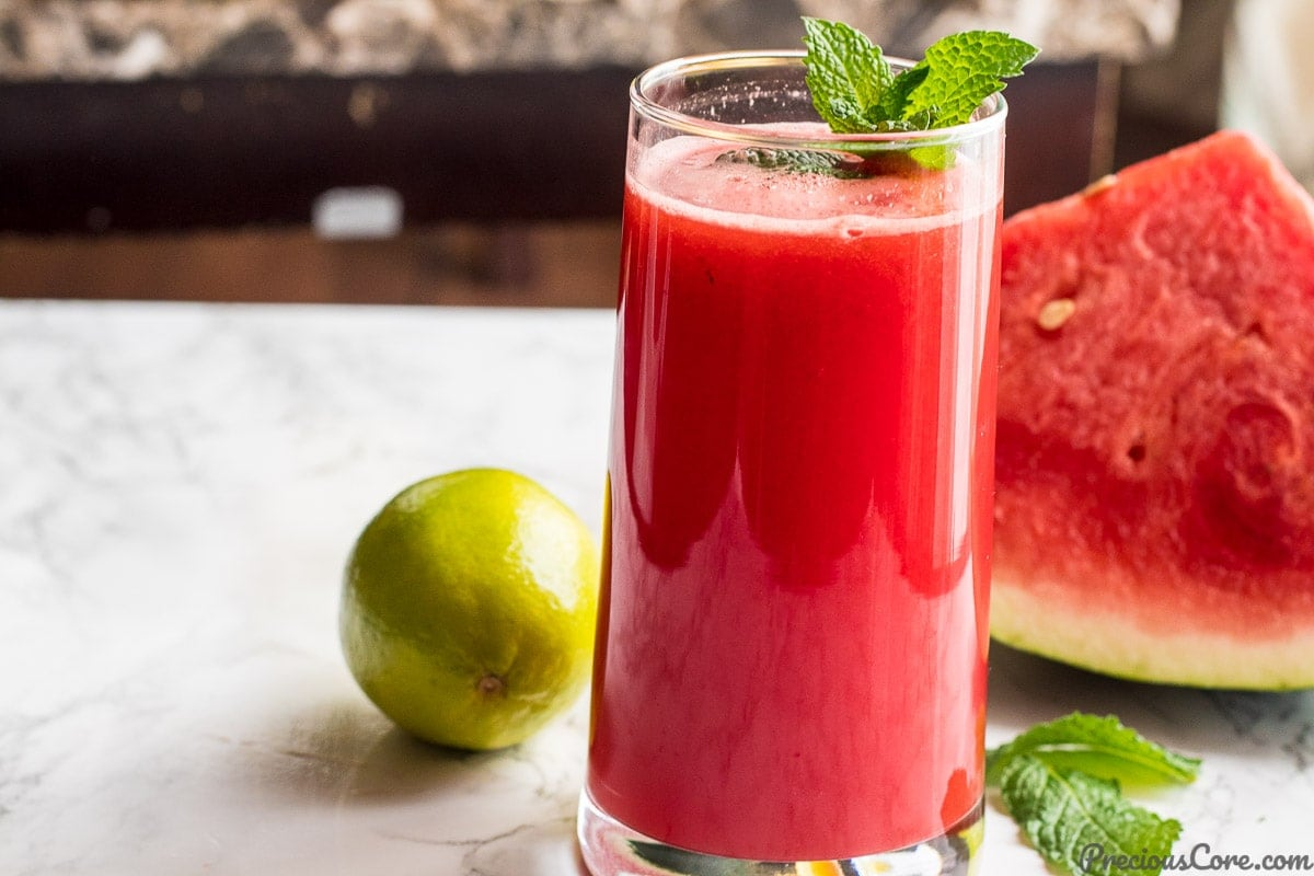 WATERMELON MINT JUICE | Precious Core