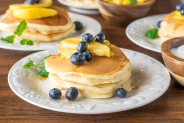 Lighter pancakes recipe