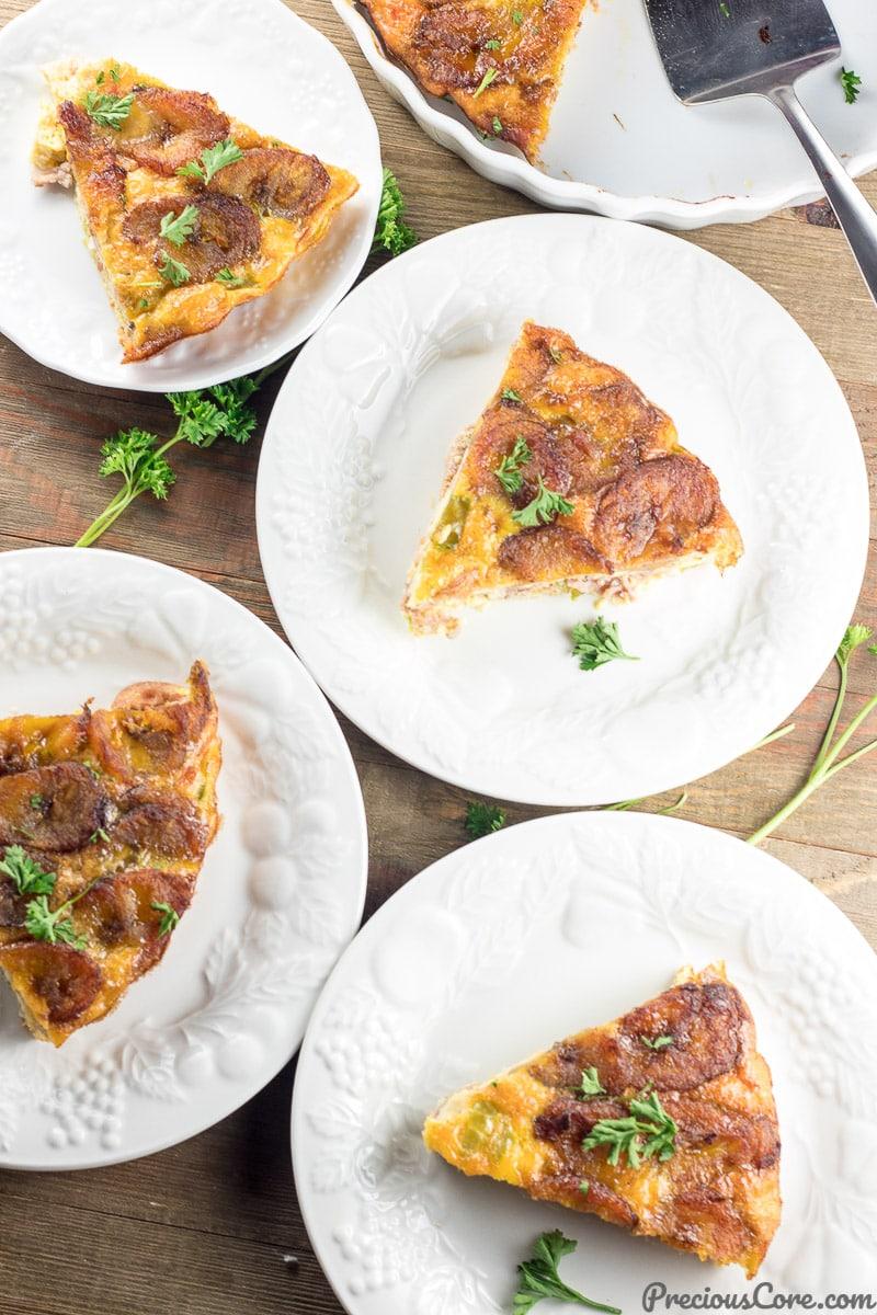 Plantain Frittata recipe