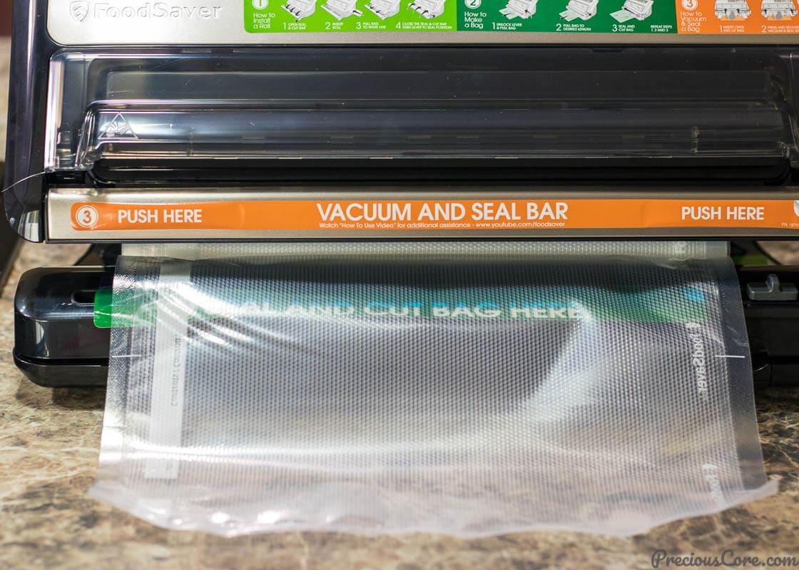 Making Foodsaver Bags
