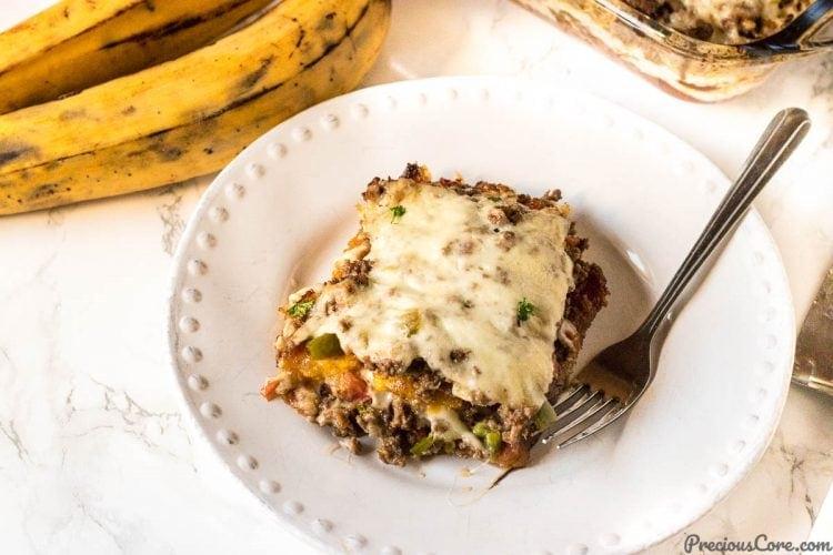 Plantain Lasagna recipe