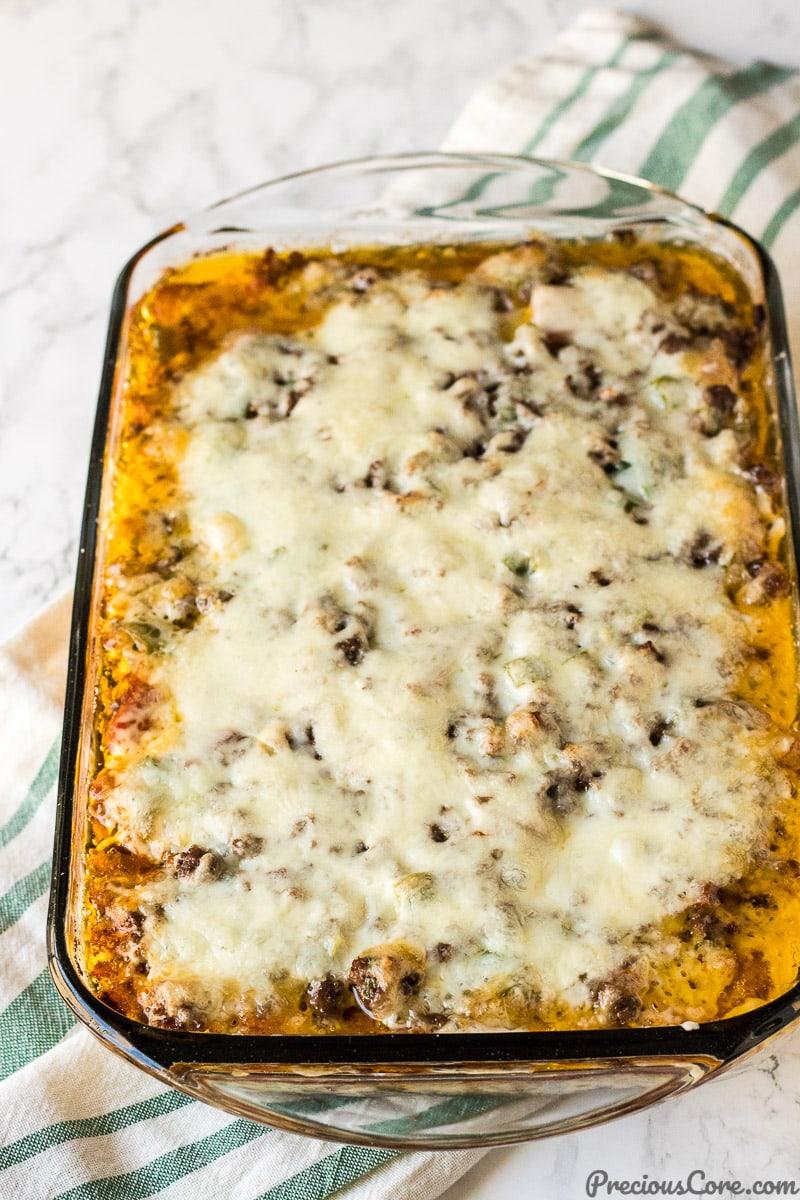 Plantain Lasagna - Pastelon de Plantano Maduro