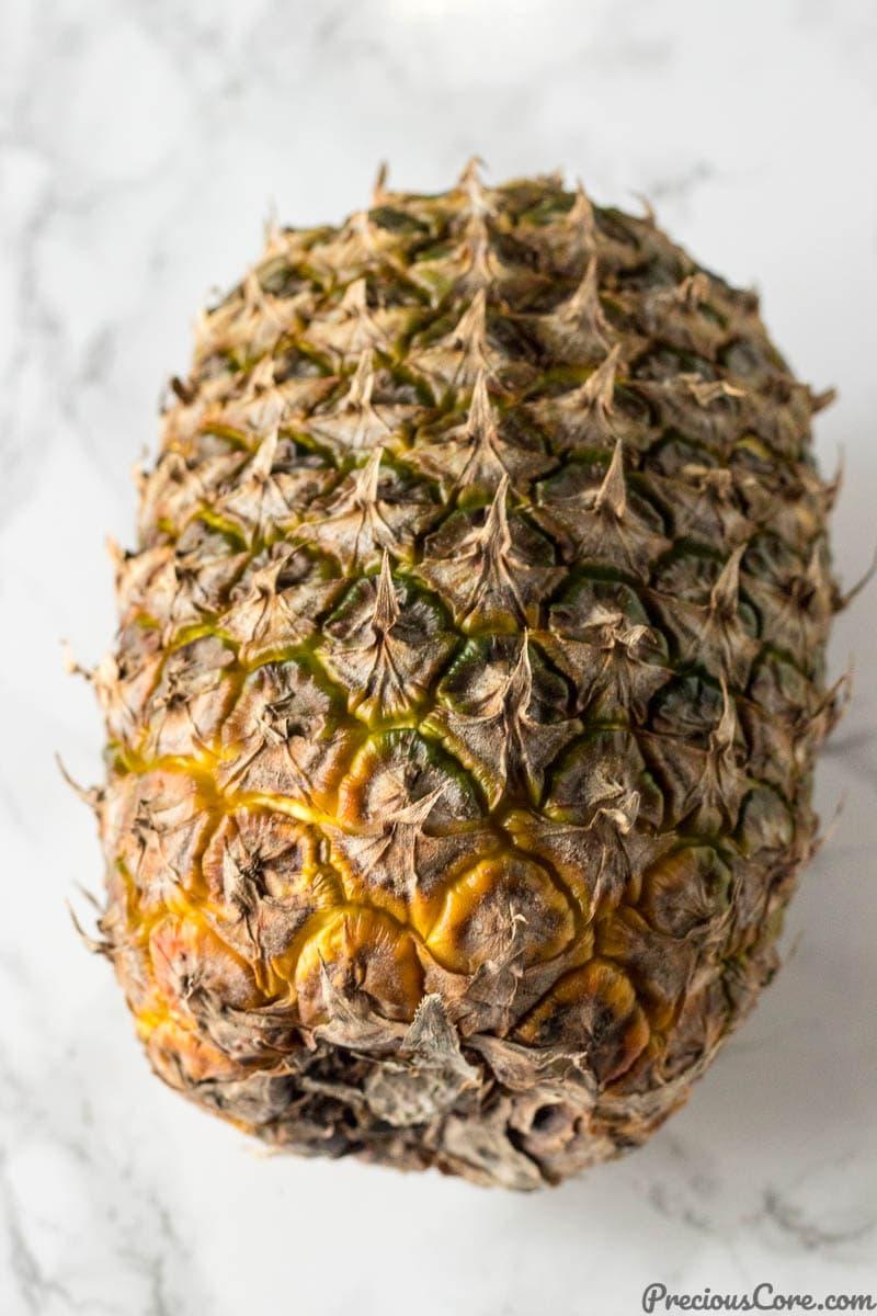 The right pineapple for homemade pineapple Jam