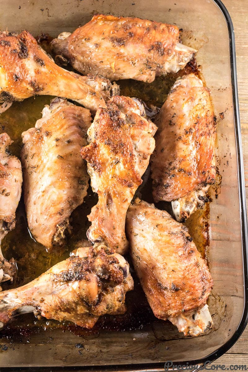 Baked Turkey Wings Recipe