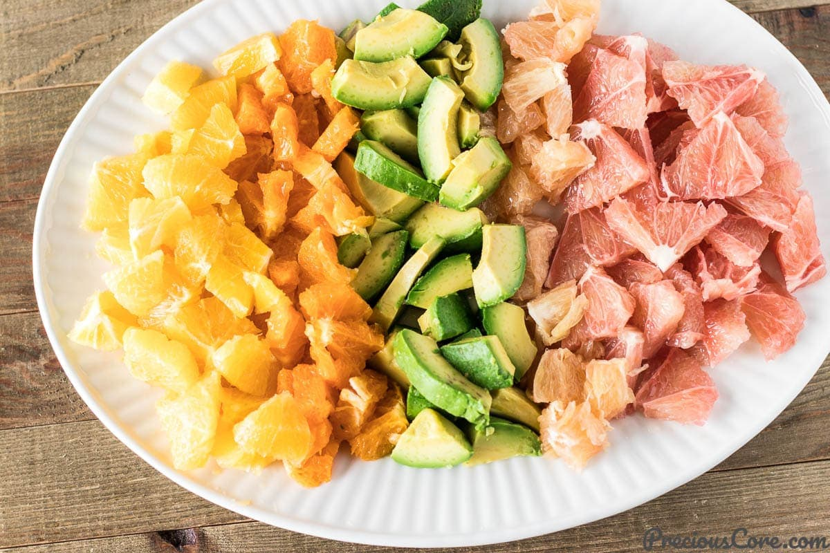 Citrus Salad with Avocado