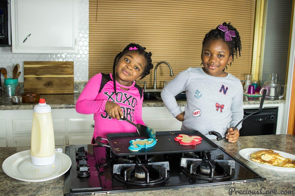Easy pancake recipe for kids