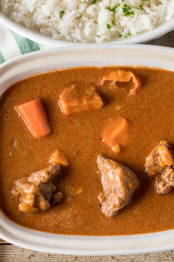 Bowl of African Peanut Stew