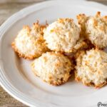 Easy Coconut Recipes on a plate