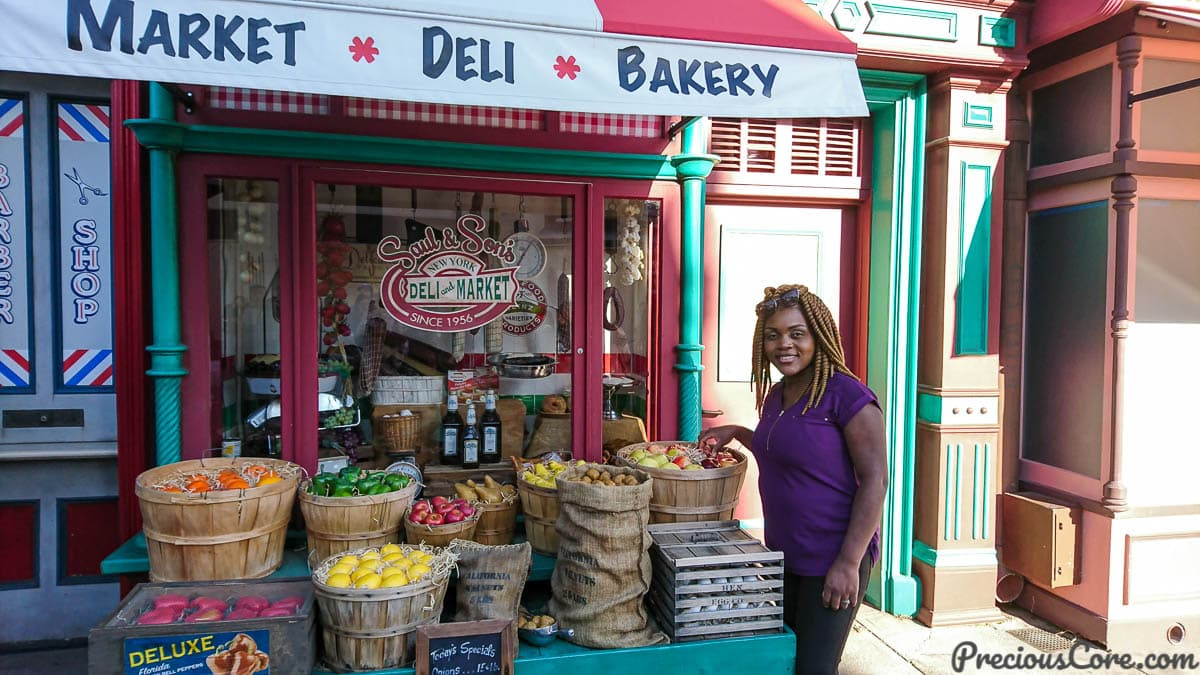 Old Deli shop at universal studios