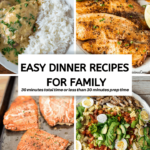 Easy Dinner Recipes For Family