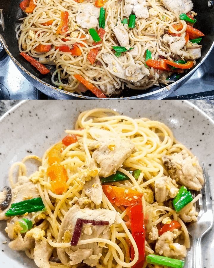 best spaghetti stir fry