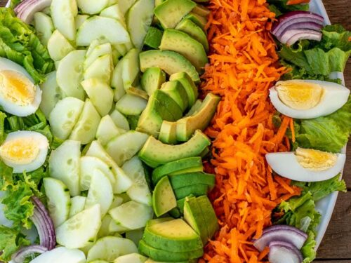 Lettuce Salad With Easy Lemon Dressing Perfect Salad For Family