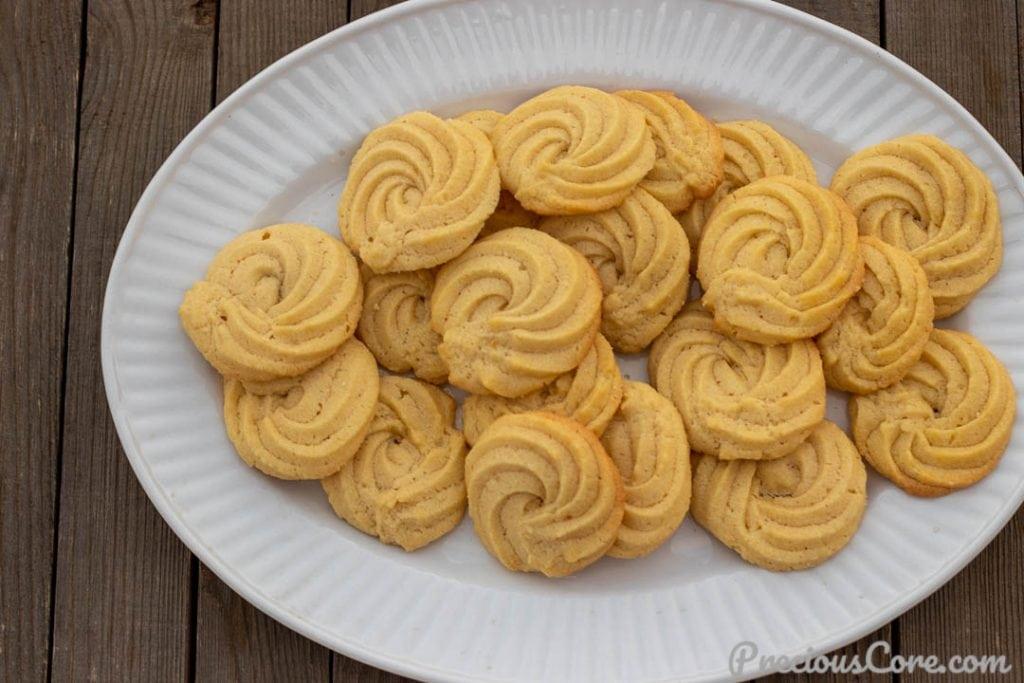 Landscape photo of Danish Butter Cookies